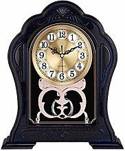kerryshop Table Clocks Imitation Solid Wood Big
