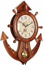 kerryshop Wall Clock Classic Wall Pendulum Clock