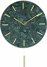 kerryshop Wall Clock European Marble Wall Clock