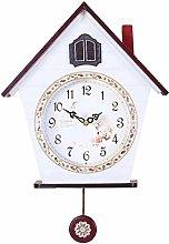 kerryshop Wall Clock Striking Cuckoo Clock