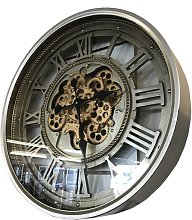 Kesgrave Vintage Retro Aged Mechanical Moving Gear