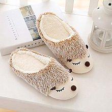 KESIHJAZ Cotton Slippers Christmas,Cute Furry