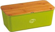 Kesper 18092 Bread Bin Melamine Bamboo Green