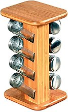 Kesper 58099 13 Spice Rack with 8 Empty Spice Jars