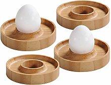 Kesper 58165 Egg Cup, Bamboo, Brown