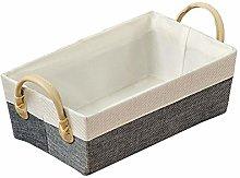 Kesper Basket 28x17,5x13,5cm of Paper fibers in