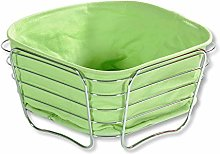 Kesper Bread & Fruit Basket of Stainless Steel,