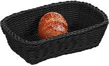Kesper Bread & Fruit Basket oval in black, 30 x 20