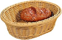 Kesper Bread & Fruit Basket Oval of Full Plastic