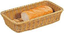 Kesper Fruit/Bread Basket, Plastic, Brown,