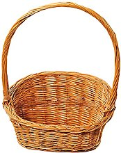 Kesper Gift Basket, Willow, Brown, 40 x 24 x 25 cm