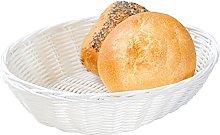 Kesper Mesh Bread Basket, Plastic, White, 24 x 20