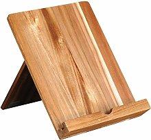 Kesper Tablet and Cook Book Holder Wood Brown 18 x