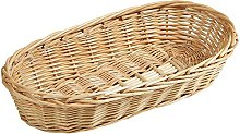 Kesper Willow Baguette Basket, Wood, Brown, 38 x