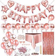 Keten Birthday Party Decorations, Happy Birthday