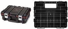 Keter 221474 Technicians Tool Box & Amazon Basics