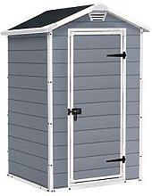 Keter 4X3 Apex Manor Resin Shed