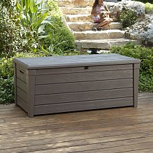 Keter Brightwood Storage Deck Box 455 L Taupe