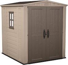 Keter Factor Apex Garden Storage Shed 6 x 6ft -