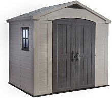 Keter Factor Apex Garden Storage Shed 8 x 6ft -