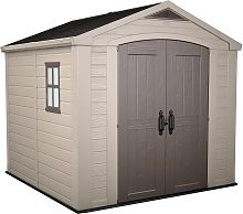 Keter Factor Apex Garden Storage Shed 8 x 8ft -