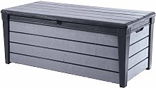 Keter Garden Storage Box Brushwood 455 L Anthracite