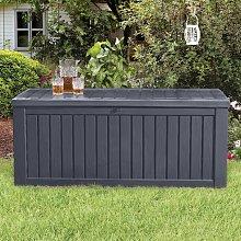 Keter Garden Storage Box Rockwood 570L Anthracite