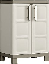 Keter Low Storage Cabinet Excellence Black and