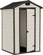 Keter Manor Apex Garden Storage Shed 4 x 3ft -