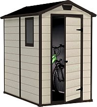Keter Manor Apex Garden Storage Shed 4 x 6ft -