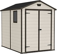 Keter Manor Apex Garden Storage Shed 6 x 8ft -