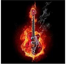 Ketner Guitar in Flames 2.88m x 288cm