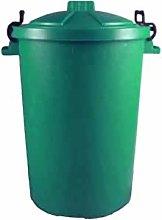 Keto Plastics GREEN OUTDOOR PLASTIC WASTE BIN,