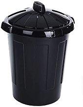 KetoPlastics 80L 80 Litre Black Eden Bin, dustbin,