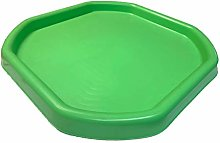 KetoPlastics SMALL Messy Play tray LIME GREEN