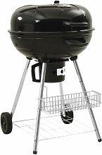 Kettle Charcoal BBQ Grill 73x58x96 cm