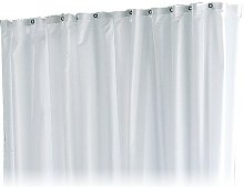 Keuco Shower Curtain Plan Plain Light Grey 1800mm