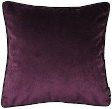 Keven Cushion Cover Canora Grey Colour: Aubergine