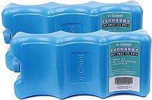 kexinda 2pcs Contoured Shape Ice Packs Breast Milk
