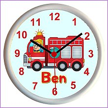 Key Expressions Personalised FIRE ENGINE Childrens