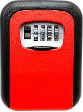 Key Storage Lock Box 4-Digit Combination Lock Box