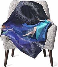 Keyboard cover Elsa Snow Queen Baby Blanket or