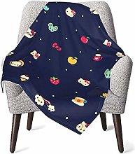Keyboard cover He-llo Ki-tty Black Baby Blanket or