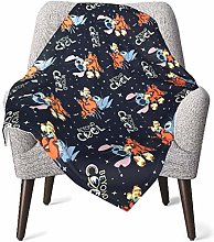 Keyboard cover Lilo and Stitch Baby Blanket or