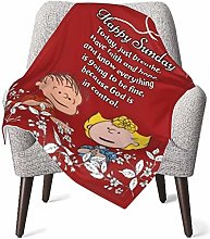 Keyboard cover Snoopy Happy Sunday Baby Blanket or