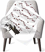 Keyboard cover Snoopy Piano Play Baby Blanket or