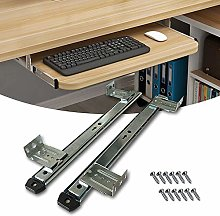 Keyboard Shelf Runners Slides Adjustable Under