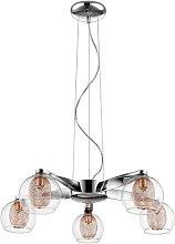 Keynsham 5-Light Sputnik Chandelier Brayden Studio
