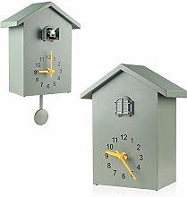 KEYPOWER Cuckoo Clock Cuckoo Wall Clock, Natural