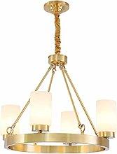KFDQ Chandelier,Brass Modern Chandelier Lighting